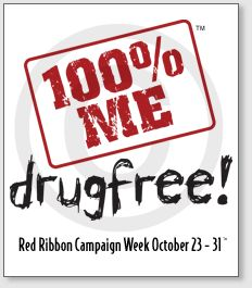 ... Red Ribbon Week on Pinterest | Red ribbon week, Drug free and Red