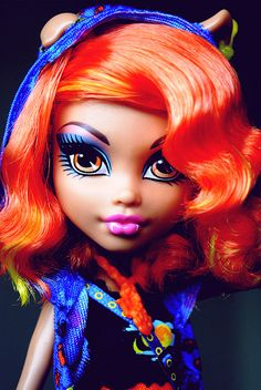 The original Howleen Wolf doll. The hair is different, but it's SUPER CUTE this way.