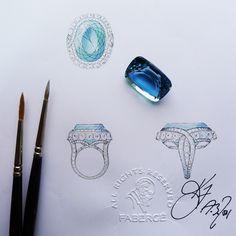 5 Steps Explaining the Bespoke Jewellery Process | The Jeweller London