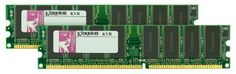 Kingston 2GB KIT 400MHZ DDR PC3200 (KVR400X64C3AK2/2G) (2 x 1 GB) by Kingston. $30.05. Kingston is the industry leader in PC memory. Designed with the whitebox user and system integrator in mind, Kingston ValueRAM products are engineered to meet industry standard specifications and rigorously tested to ensure quality. Kingston ValueRAM Memory is ideal for those who purchase memory by spec and are looking for competitvely priced generic memory. Product is backe...