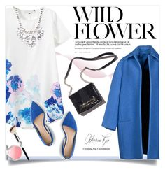 """""""WILD FLOWER."""" by fairouze ❤ liked on Polyvore featuring CÉLINE, Forever 21, J.Crew and It Cosmetics"""