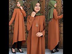 Yeni En Şık Abiye Elbise Modelleri 2019 - YouTube Muslim Women Fashion, Modern Hijab Fashion, Abaya Fashion, Fashion Dresses, Hijab Gown, Hijab Style Dress, Casual Hijab Outfit, Modele Hijab, Indian Designer Suits