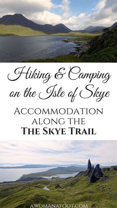 Camping on Skye: Find out where you can stop for the night along the Skye Trail: wild camp spots, camp sites and bothies. | #hiking in Scotland | #wildcamping in #Scotland | wild #camping on #Skye | hill walking on the Isle of Skye | solo travel | female solo #hiking | awomanafoot.com