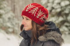 Lodgepole Hat knitting pattern from Sara Gresbach on craftsy.com - see also the lodgepole cowl