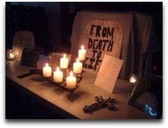 Resurrection prayer station