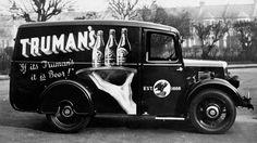 Truman Beer truck, London