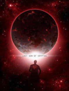 Original Giclee Art Print 'Last Son Of Krypton' by DigitalTheory