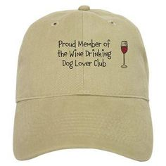 Baseball cap is super cute.  Available in khaki or white.  Join the club.  Cheers!  Copyright 2017