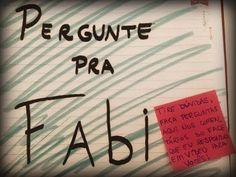 Pergunte pra Fabi: Namoro, primeiro beijo, vida pessoal. Namorado Fabi Santina