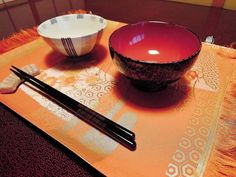 Lovely Japanese Silk Place mat from Washoku!!