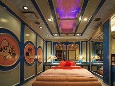 Disney themed room at Casa Swan Love Hotel/Japan
