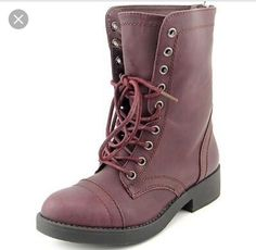 New Madden Girl Maavin Women Burgundy Boot Sz 6 #MaddenGirl #Comfort