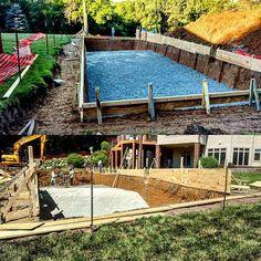 We just excavated this monster 20' x 75' pool yesterday! Progress pics to follow. #barringtonpools #builtbybarringtonpools #sun #igdaily #photooftheday #photo #work #swimming #pool #summer #instalike #team #big #monster #dirt #contractor #outdoors #contractorsofinsta @contractors.of.insta #machine #water #pebbletec #poolbuilder #design #custom