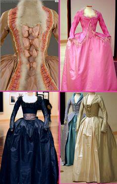 Milena Canonero's costume designs for Marie Antoinette (2006).