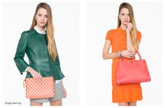 Featured in #lookbook: In the bold for spring with #Marni, #LV and #Alaia.