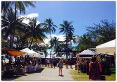 Sunday market in port Douglas