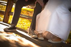 There is no way i am wearing heels at my wedding!