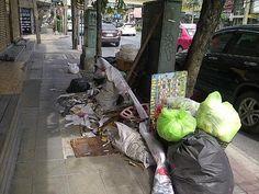 Garbage disposal in Bangkok has grown less efficient nowadays