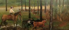 Florida Cracker Culture at the Brevard Museum. Casper McCloud's Cracker Cow Hunt, 1993