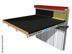 изолированная металлическая панель для кровли TERMOCOPERTURE® TCP / C помощью ELCOM SYSTEM