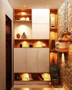 Image may contain: indoor Flat Interior, Interior Rendering, Home Interior, Kitchen Interior, Interior Design, Entrance Decor, Entrance Design, Entryway Decor, Crockery Units