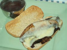 'Shroom Dip - a vegetarian's French Dip.