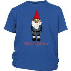 Gnome Security   T-Shirts For Kids