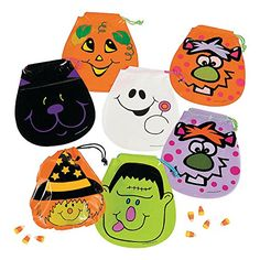 Fun Express Drawstring Halloween Goody Bags : Package of 72 for sale online Halloween Goodie Bags, Halloween Wishes, Halloween Toys, Halloween Party Supplies, Halloween Goodies, Halloween Treats, Halloween Buckets, Kawaii Halloween, Halloween Printable