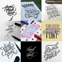 Everything letters! on Behance