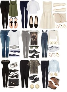 """9 Outfits for Uni"" by ieleanorcalderstyle ❤ liked on Polyvore"