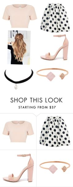 """""""Untitled #268"""" by weirdsassypinas ❤ liked on Polyvore featuring River Island, Steve Madden and Michael Kors"""