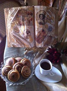 Ροξάκια, της Ελένης Καρακίτσιου - Argiro.gr Food And Drink, Painting, Art, Craft Art, Painting Art, Kunst, Paint, Draw, Paintings