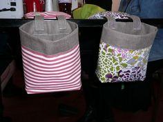Poubelle de table pour la couture, en tissu