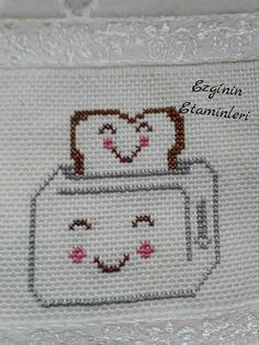 This Pin was discovered by Hat Kawaii Cross Stitch, Cross Stitch Art, Cross Stitch Borders, Cross Stitch Alphabet, Modern Cross Stitch, Cross Stitch Designs, Cross Stitching, Cross Stitch Patterns, Wool Embroidery