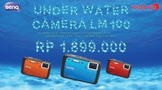 Kamera super anti-air, anti-goncangan, dan anti-debu Beli di sini-> http://makanja.com/kamera/798-benq-under-water-camera-lm100-blue-free-sd-4gb.html#