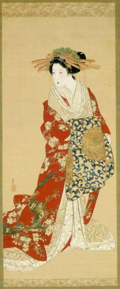 Mihata Joryu Japanese, active 1830–1844 High Ranking Courtesan, c. 1830–43