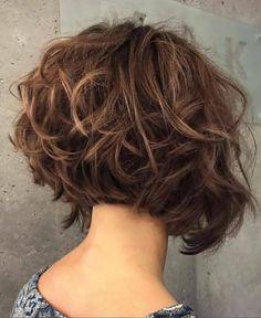 Short Layered Haircuts 2018 – 2019 - The UnderCut Layered-Cu. - Short Layered Haircuts 2018 – 2019 – The UnderCut Layered-Curly-Hair Short La - Short Layered Curly Hair, Short Layered Haircuts, Short Hairstyles For Thick Hair, Layered Bob Hairstyles, Haircut Short, Long Hair, Wavy Pixie Haircut, Haircut Medium, Modern Haircuts