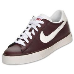 NIKE Men's Sweet Classic Leather Casual Shoes, Maroon/White - 13.0 #Glimpse_by_TheFind