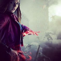 Scarlet witch!