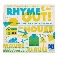 Amazon.com: Educational Insights Rhyme Out!: Toys & Games