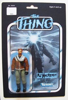Custom Made 3 3 4 RJ Macready The Thing Vintage Style Action Figure Horror Action Figures, Custom Action Figures, Retro Toys, Vintage Toys, 1980s Toys, Gi Joe, Toy Barn, Creature Feature, Sleep