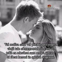 Vei realiza când vei privi înapoi asupra vieții tale că momentele în care ai trăit cu adevărat sunt acelea în care ai făcut lucruri în spiritul dragostei.  Zile pline de frumos! ____________ The most beautiful posts / Cele mai frumoase postări   Despre Oameni frumosi  - pagina ta de frumos   http://ift.tt/2xyywKb  - arhiva cu peste 400 de postări... una mai frumoasă ca alta!