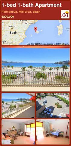 1-bed 1-bath Apartment in Palmanova, Mallorca, Spain ►€200,000 #PropertyForSaleInSpain