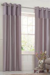 Buy Dusky Pink Velvet Stripe Curtain From The Next UK Online Shop