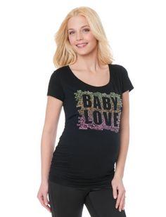 Motherhood Maternity: Baby Love Maternity T Shirt ♥