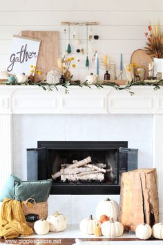 Decorating On A Budget, Porch Decorating, Vintage Farmhouse, Farmhouse Style, Backyard Bonfire Party, Mystery Dinner Party, Rustic Mantel, Spacious Living Room, Fall Diy