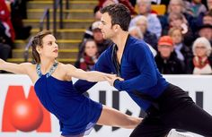 Meagan Duhamel and Eric Radford of Canada perform their free skate at the 2016 World Figure Skating Championships.