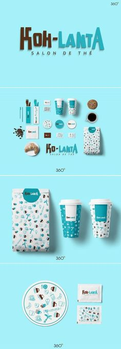 - Art direction, branding and packaging for koh-lanta on Behance by Fatma Zahra'a Sfax صفاقس, Tunisia curated by Packaging Diva PD. Corporate Identity Design, Brand Identity Design, Visual Identity, Branding Design, Identity Branding, Personal Branding, Branding And Packaging, Food Packaging Design, Fruit Packaging