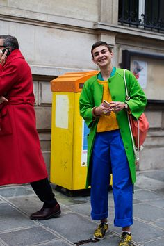 On the Street…Colorful, Paris | The Sartorialist | Bloglovin'