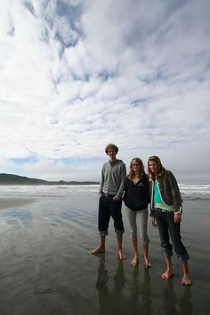 Tofino, BC. Part of a Vancouver Island University photoshoot